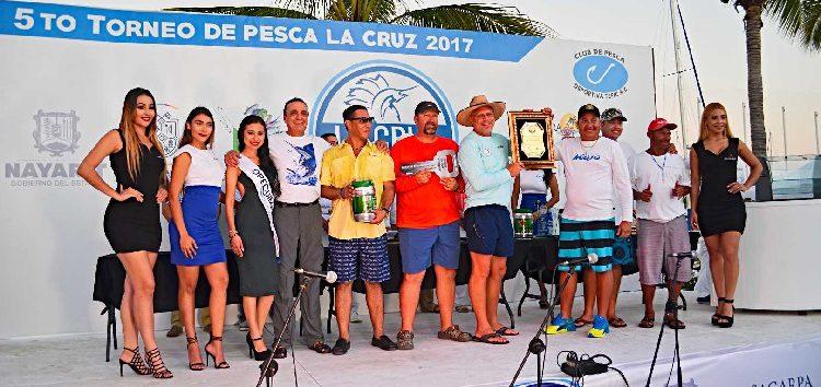 Gran final del 5to. Torneo Internacional de Pesca La Cruz 2017