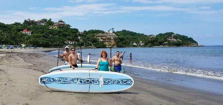 Agentes de viajes de Toronto se enamorande la Riviera Nayarit
