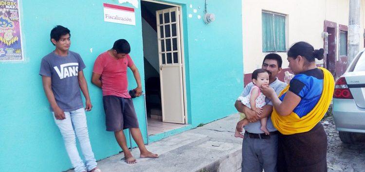 Inspectores de Fiscalización de Bahía golpearon a Tzotzil y lo despojan de sus artesanías