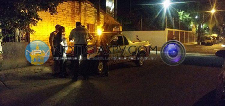 Reportan choque por alcance en San Vicente