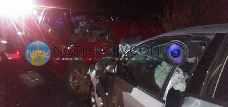 Seis lesionados en fuerte accidente en Punta de Mita