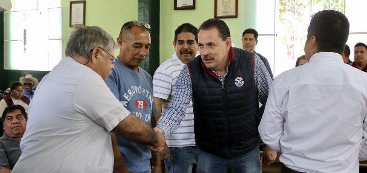 Cambios en Ayuntamiento, a favor de Agroproductores: Jaime Cuevas