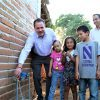 Inaugura Jaime Cuevas obra de agua potable en Mezcales
