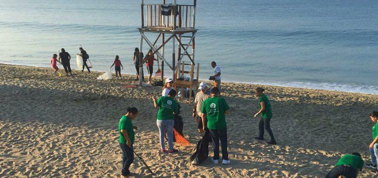 Reinicia actividades Red de Limpieza de Playas de la Riviera Nayarit