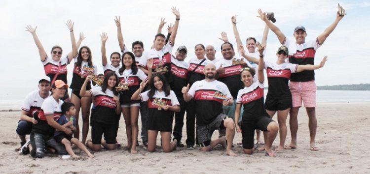 "Triunfan Nadadores de Bahía en reto ""Aguas Abiertas Bahía de Matanchén 2018"""
