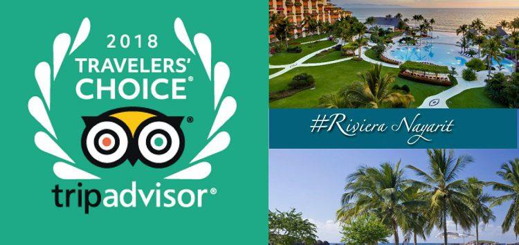 Riviera Nayarit brilla en los Travelers' Choice Awards