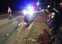 Atropellan a motociclistas en San Juan de Abajo