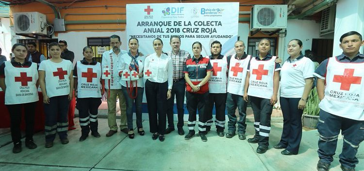 Donativo Histórico a la Cruz Roja en Bahía: Jaime Cuevas