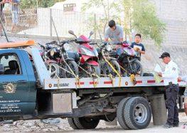 Refuerzan Operativo Motos con presencia y apoyo de Policía Estatal Turística