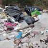 Basura y escombro en cauce de arroyo en San Pancho