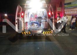"""Choca """"motoloco"""" contra auto en San Juan de Abajo"""