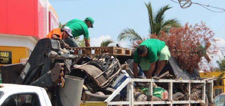 Inicia Descacharrización en Valle Dorado