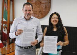 Firman Convenio INFONAVIT y Gobierno de Bahía