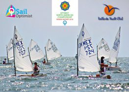 Riviera Nayarit recibe el Campeonato Norteamericano de Optimist 2018