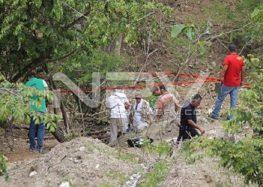 Cadáver hallado en arroyo pertenece al de una mujer