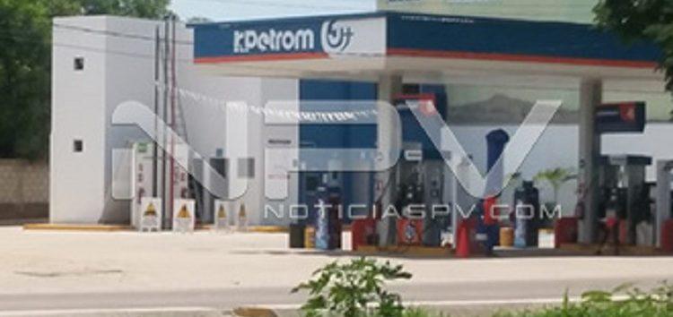 Levantaron y asaltaron a  administradora de gasolinera