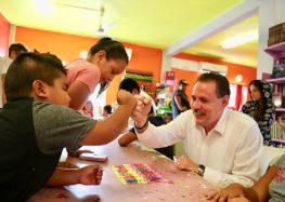 Jaime Cuevas inaugura Cursos de Verano en Bibliotecas de Bahía