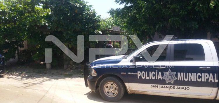 Detienen a agresivo sujeto en San Juan de Abajo