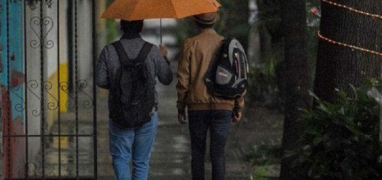 ¡No olvides el paraguas! Habrá lluvias en todo el país