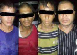 Caen cuatro presuntos asaltantes de casa habitacion en Valle Dorado