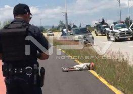 Ejecutan a balazos a un hombre en los límites de Tepic y Xalisco