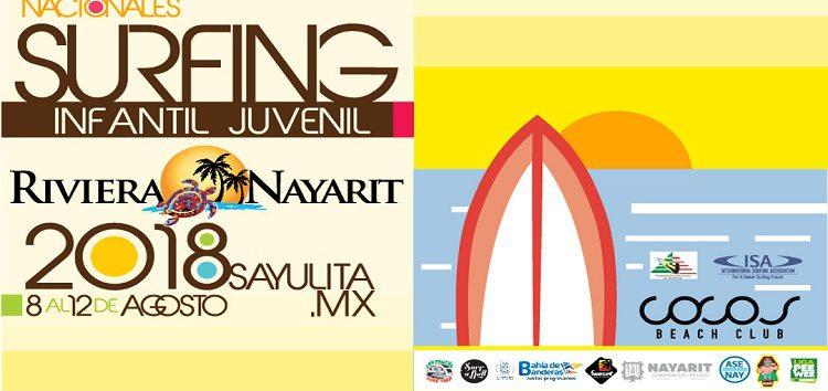 Recibe Riviera Nayarit el Campeonato Nacional de Surfing Infantil y Juvenil Nayarit 2018