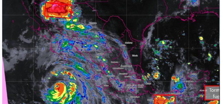 "Efecto ""Fujiwhara"": ""John"" absorbió a ""Ileana""; ya es un potente huracán"