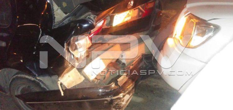 Chocaron dos vehículos  en San Clemente de Lima