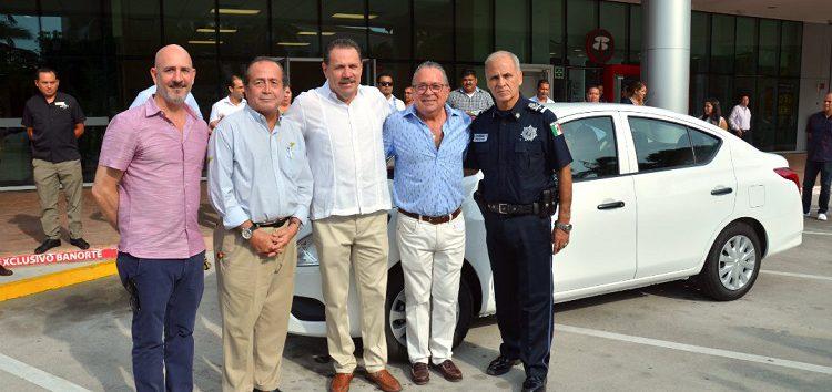 """Empresarios y Municipio """"Juntos por nuestra seguridad"""" en Riviera Nayarit"""