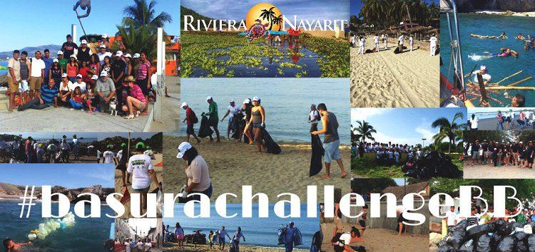 ¡Únete al #BasuraChallengeBB en Bahía de Banderas!