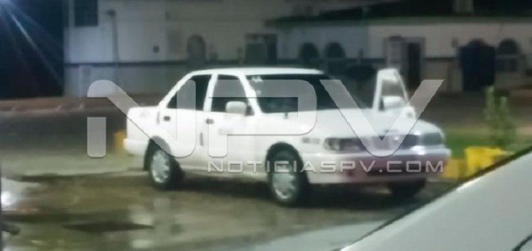 Roban taxi de Mezcales en San Vicente; piden ayuda para encontrarlo