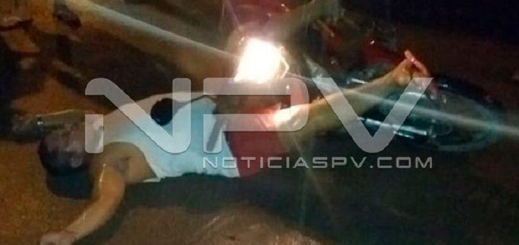 """Moto agente"" de Vidanta, terminó gravemente herido"