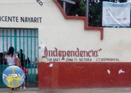 Regresan a alumnos por falta de luz y agua en escuela de San Vicente