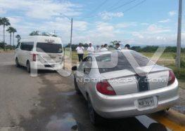 Empleado de grupo Álica se estrelló contra un taxi