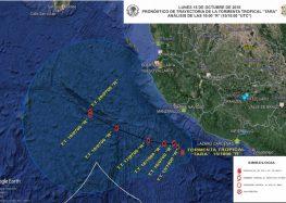 """Activan Plan Marina en fase prevención en Colima, Jalisco y Michoacán, tras el paso de """"Tara"""""""