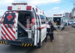 Motociclista chocó  con auto de Telmex