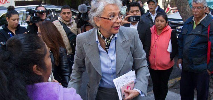 Olga Sánchez: infraestructura deben pactarla gobernadores en Segob