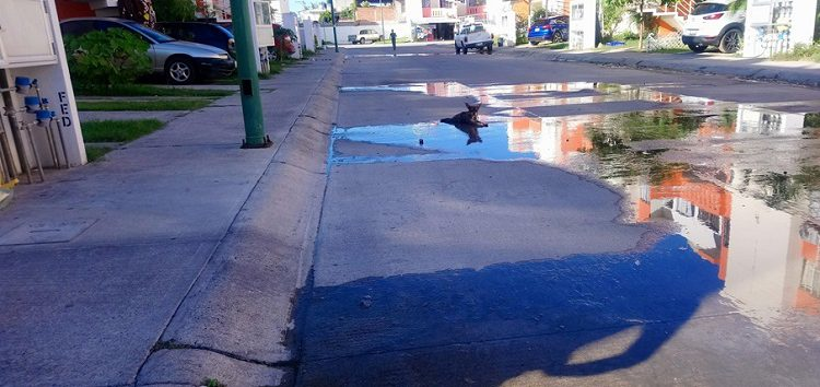 Tiradero de agua en Palma Real, problema de años que OROMAPAS no puede resolver