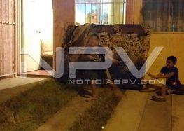 Ardió una vivienda en Valle Dorado