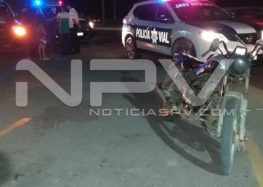 Ladrones robaron moto en San Vicente y abandonan otra en San José del Valle