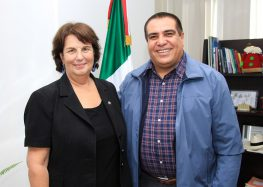 Recibe alcalde visita de autoridades Consulares de EUA